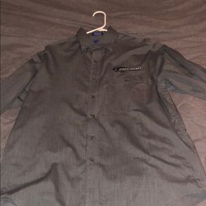 California Speedway Long Sleeve Button Down